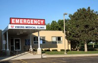 Pioneer Memorial Emergency Room Entrance